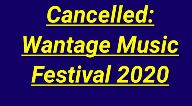 Festival Cancelled for 2020 Due to Covid-19